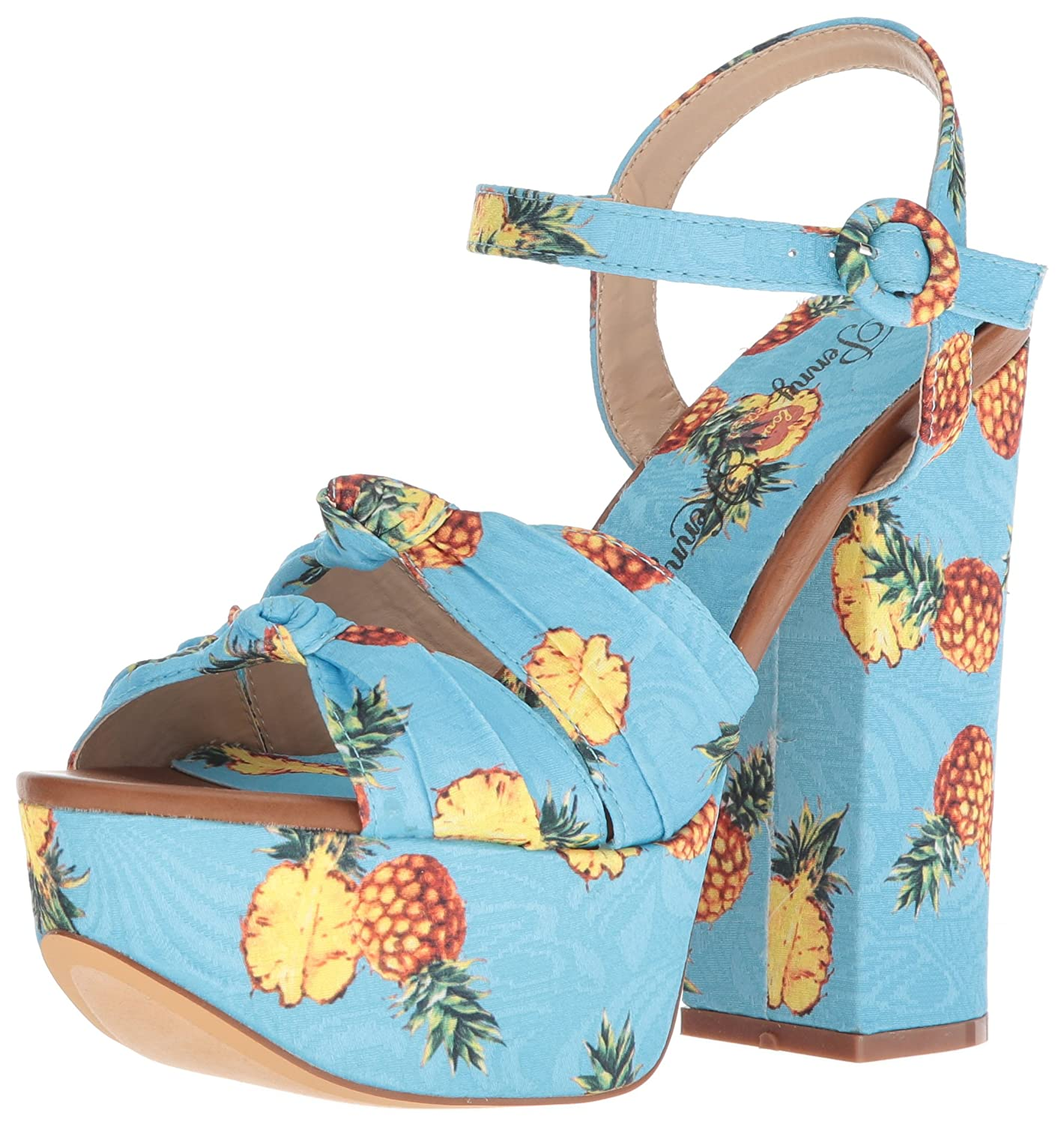 Penny Loves Kenny Women's Scat Platform B076FVCYDT 8.5 W US|Blue Pineapple