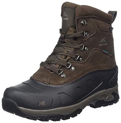 Karrimor Snowfur II Weathertite, Chaussures de Randonnée Hautes Homme, Marron (BRN), 42 EU