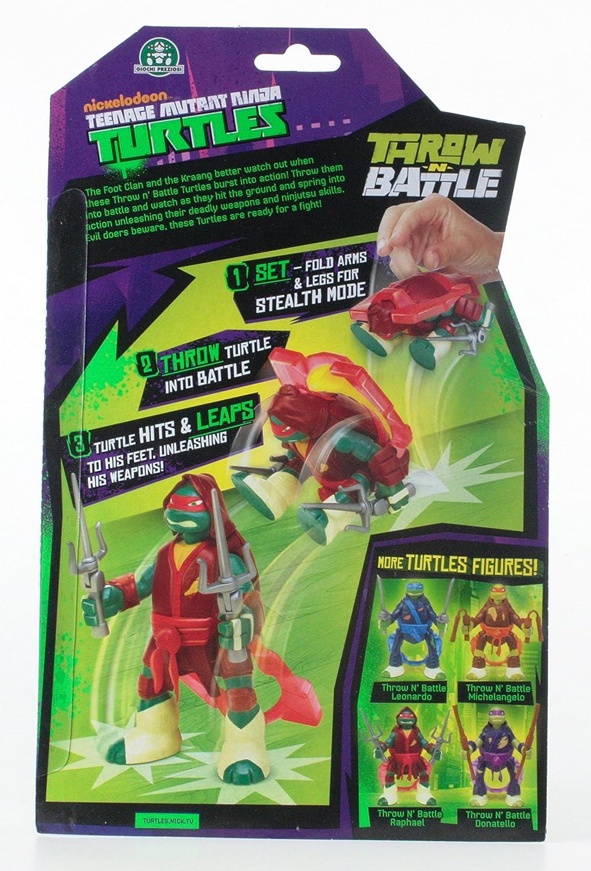 Giochi Preziosi gpz91620 - Tortugas Ninja Serie Throw N ...