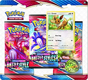 Pokemon TCG: Sword & Shield Battle Styles Blister Pack with 3 Booster Packs (Random Draw)
