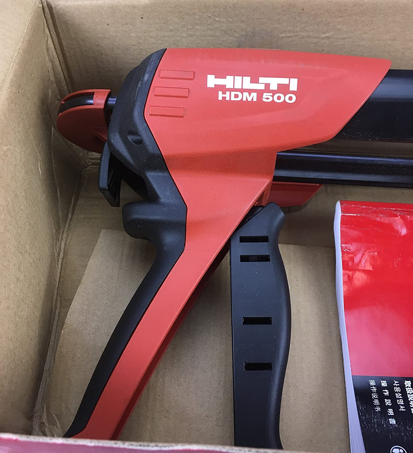 hdm 500 manual anchor adhesive dispenser with hit cr