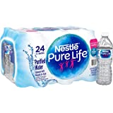 Nestle Pure Life Purified Water, 16.9 fl oz. Plastic Bottles (24 count)