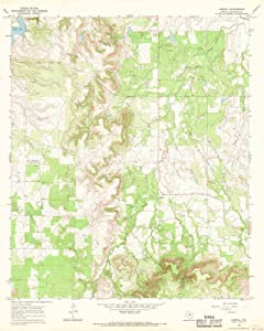 Texas Maps - 1966 Admiral, TX - USGS Historical Topographic Wall Art - 44in x 55in