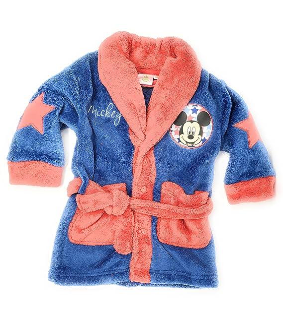 Bata pijama bebe Mickey Mouse . Color azul Talla 36 meses: Amazon.es: Ropa y accesorios