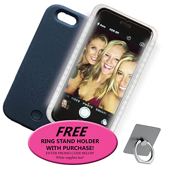 huge selection of fcf2f 55363 Amazon.com: Lux Ambition iPhone 7 Illuminating LED Light Smartphone ...