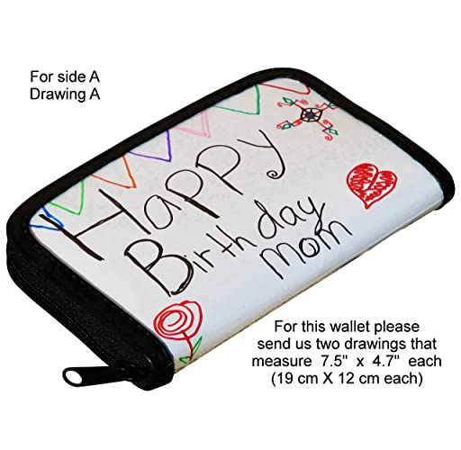 Amazon medium size personalized wallet using artwork provided medium size personalized wallet using artwork provided by you free shipping gift gifts for solutioingenieria Images