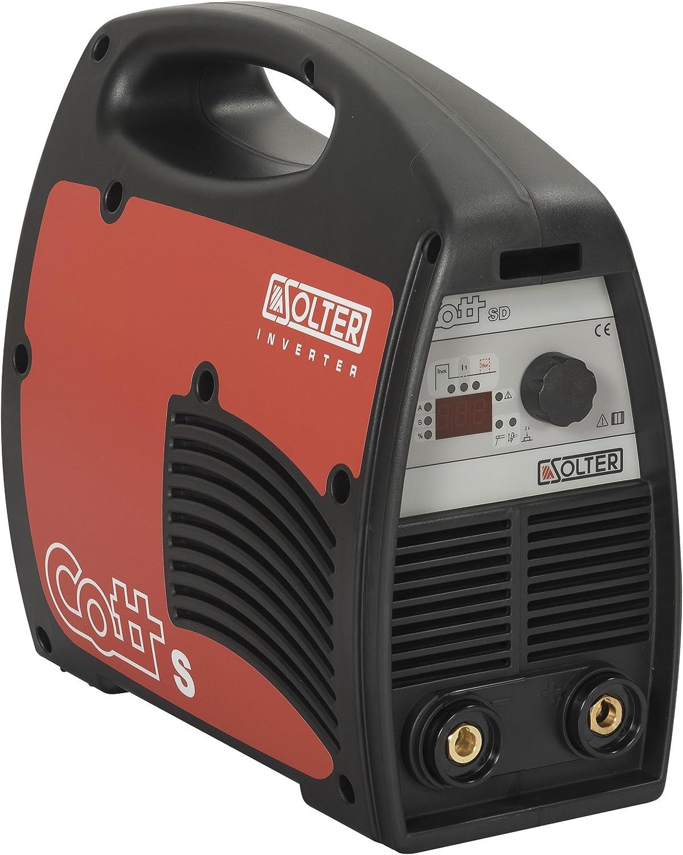 Solter 04253 Inverter COTT 175 SD Superboost + maletín, 6.5 W, 240 V, Rojo