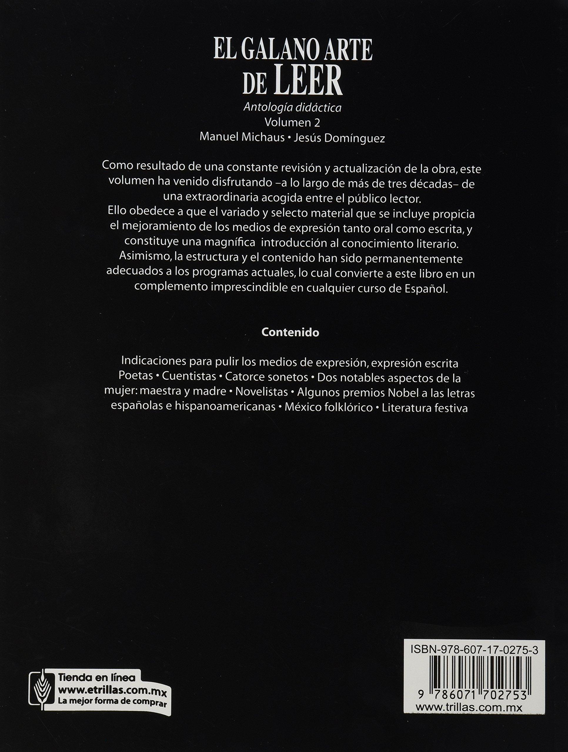 El Galano Arte De Leer Volumen 1 Ebook Download