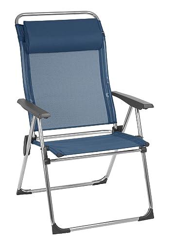 Lafuma LFM27743865 Camping Beach-Aluminium Foldable Chairs, Oc an Set of 2