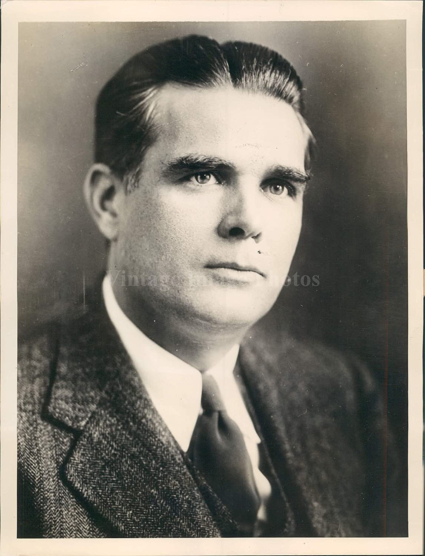 1937 NY Paul Mallon Column News King Características Retrato ...