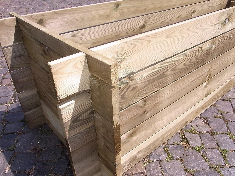 Estable madera Kom Póster compostador Compost Contenedor ...