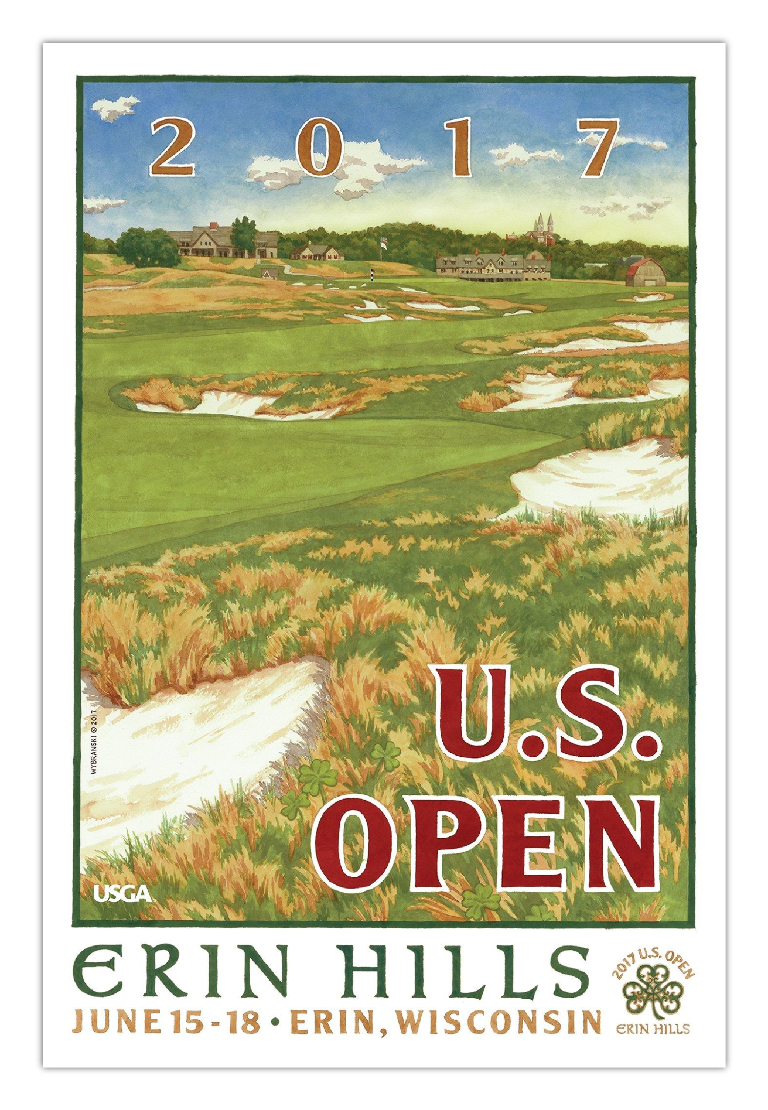 2017 U.S. Open Mini Poster