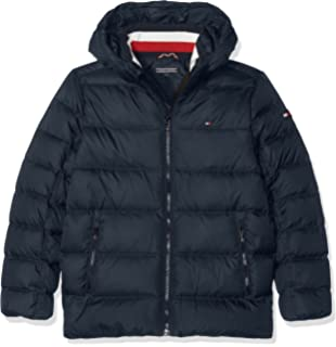 332fbba06 Tommy Hilfiger Jungen Jacke Essential Basic Down Jacket  Amazon.de ...