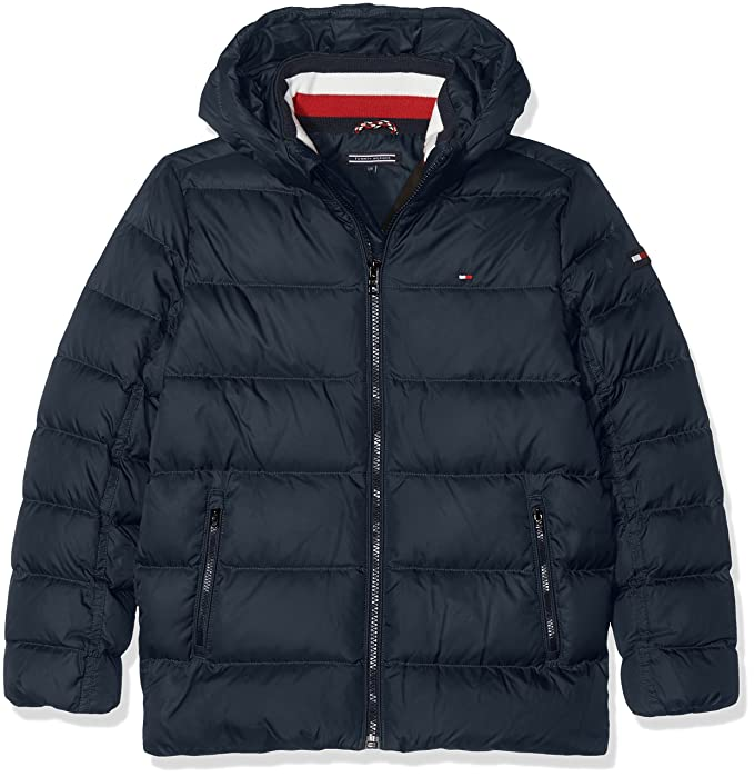 on sale 65cfc b051d Tommy Hilfiger AME Thkb Basic Down Jacket Giacca Bambino ...