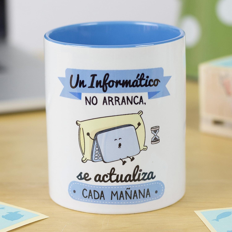 La Mente es Maravillosa - Taza frase y dibujo divertido (Un ...