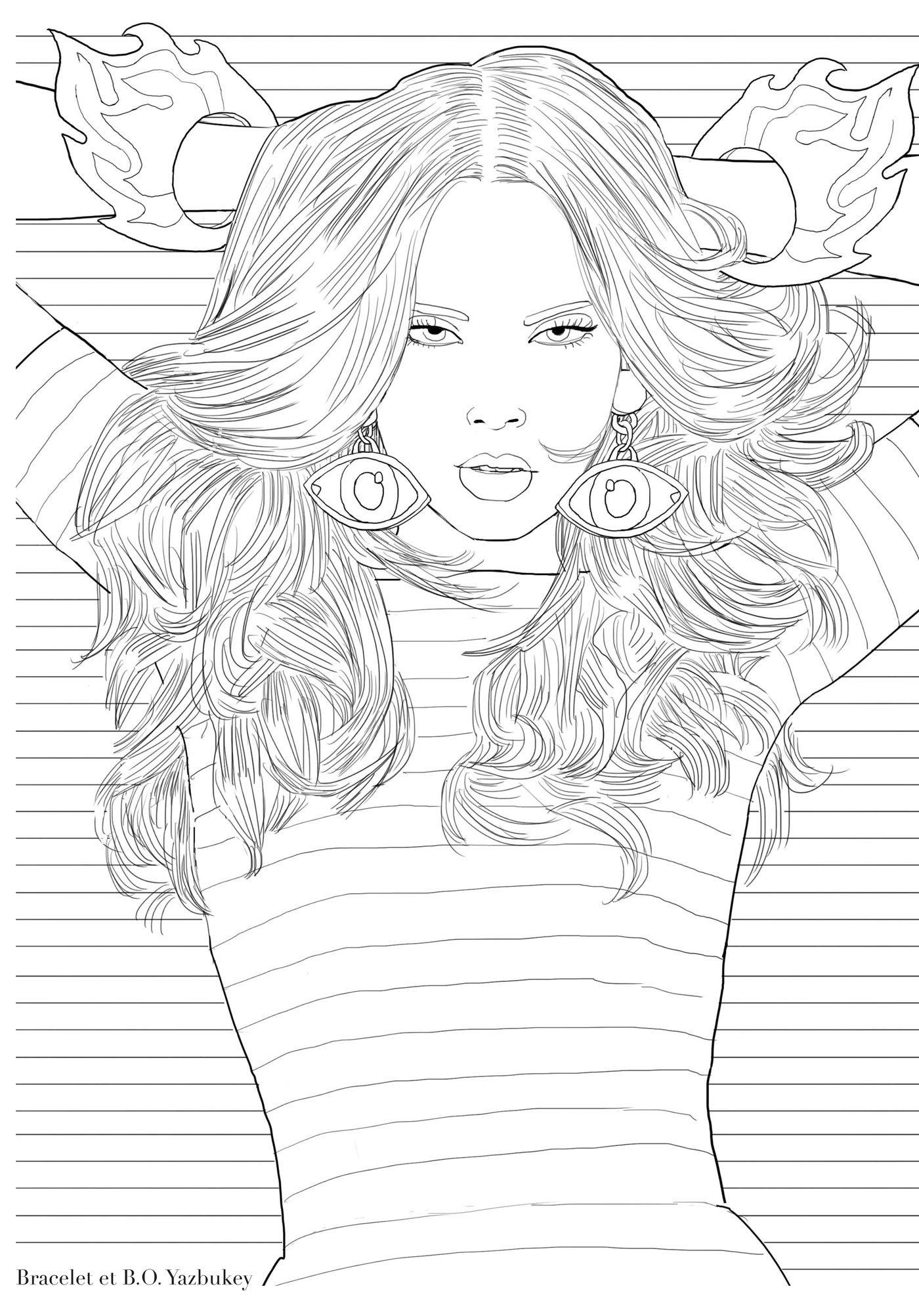 A Moda do Meu Jeito - Livro de Colorir Antiestresse (Em Portuguese do Brasil): Marie Perron: 9788578812973: Amazon.com: Books