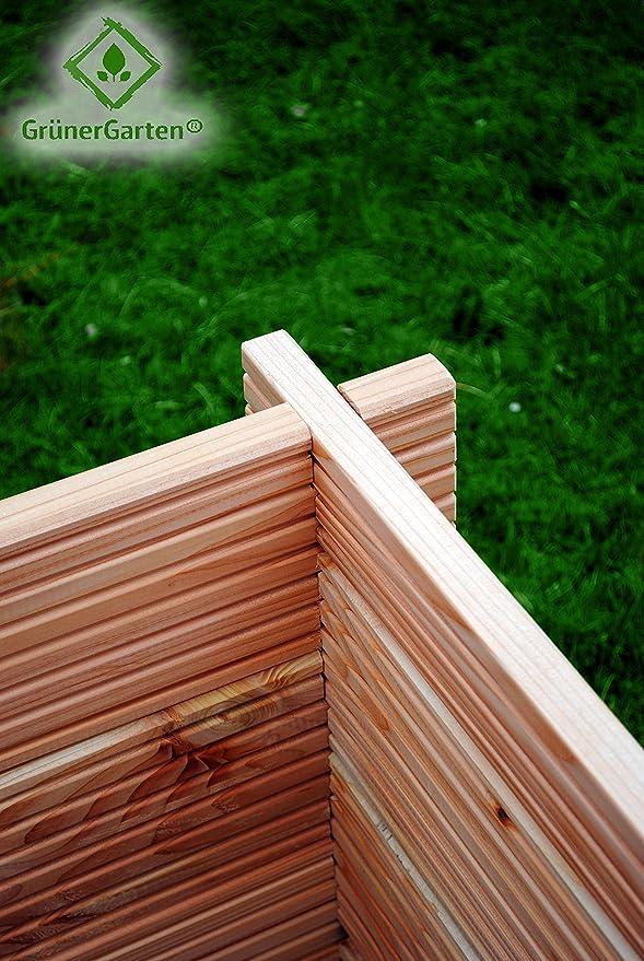 Groenlandia M 80 - Bloque de mesa para jardín (110 x 80 x 60 cm ...
