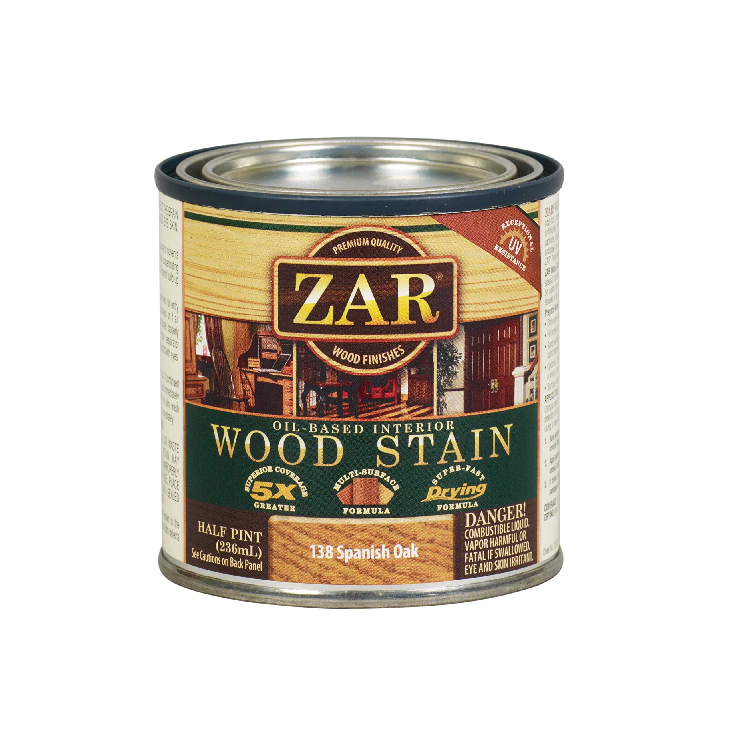 ZAR 13806 Wood Stain, Spanish Oak