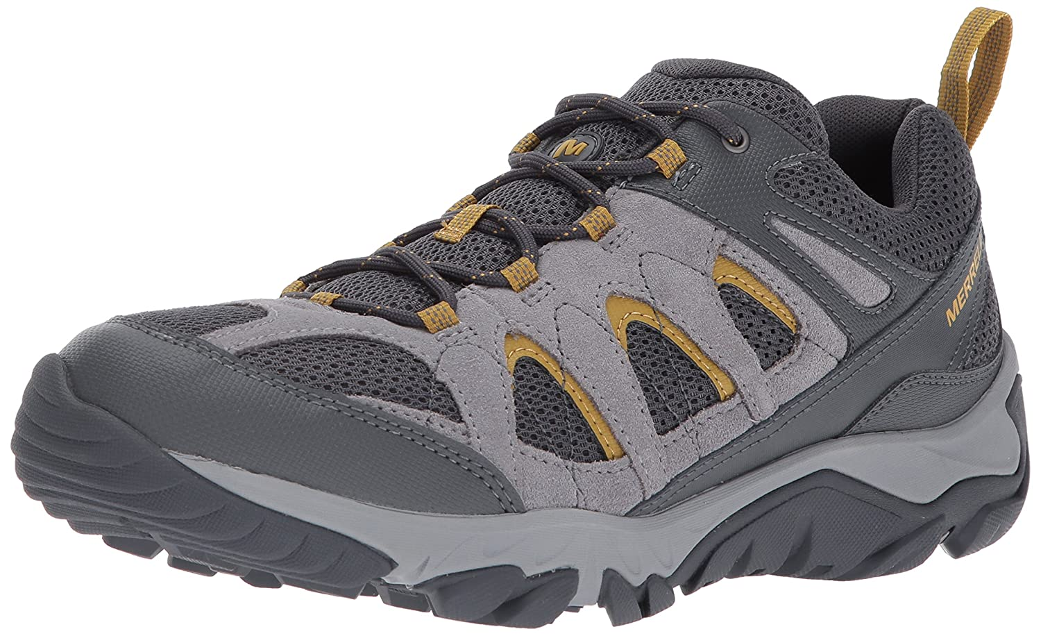 Merrell Women's Outmost Vent Hiking Boot B01N9HPZVH 07 M US|Frost Grey
