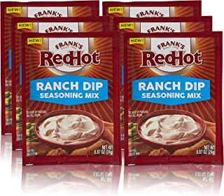 product image for Frank's RedHot Ranch Dip Seasoning Mix, 0.87 oz (Pack of 6)