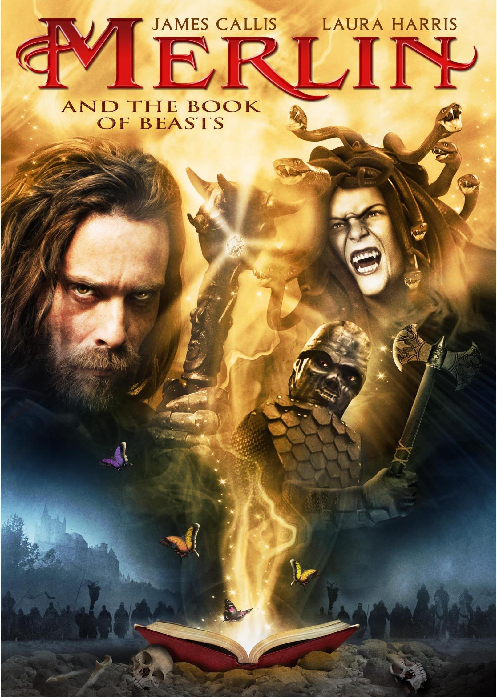 Amazon.com: Merlin and the Book of Beasts: James Callis, Laura ...