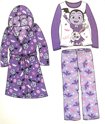 Image Unavailable. Image not available for. Color  AME Disney Junior  Vampirina Girls Plush Robe ... eb17a4026