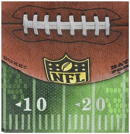 96 Ct. Amscan NFL Drive Collection Beverage Napkins