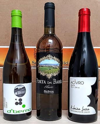 Estuche Vinos de Galicia: Amazon.es: Alimentación y bebidas