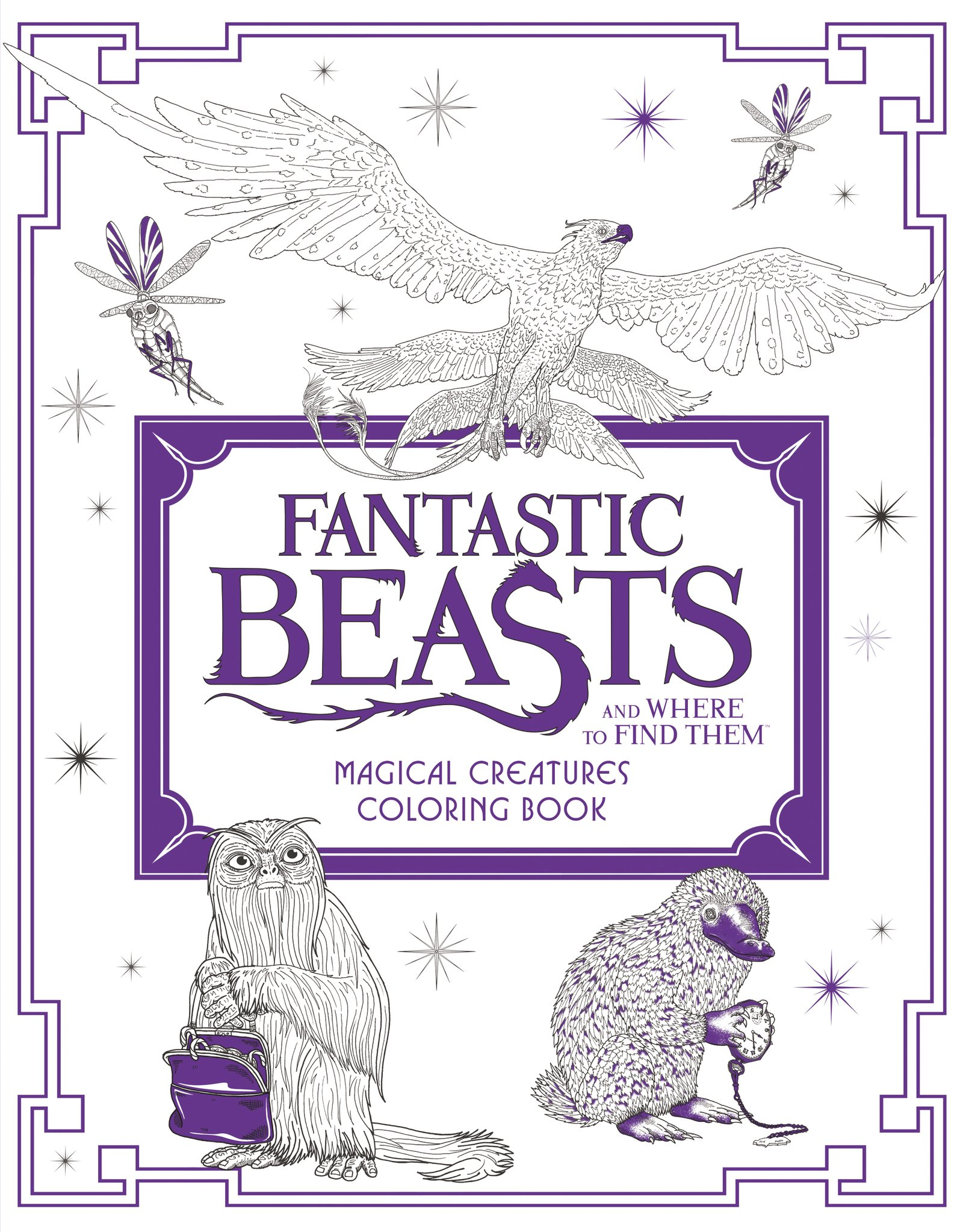 A fun magic coloring book amazon - Fantastic Beasts And Where To Find Them Magical Creatures Coloring Book Harpercollins Publishers 9780062571342 Amazon Com Books