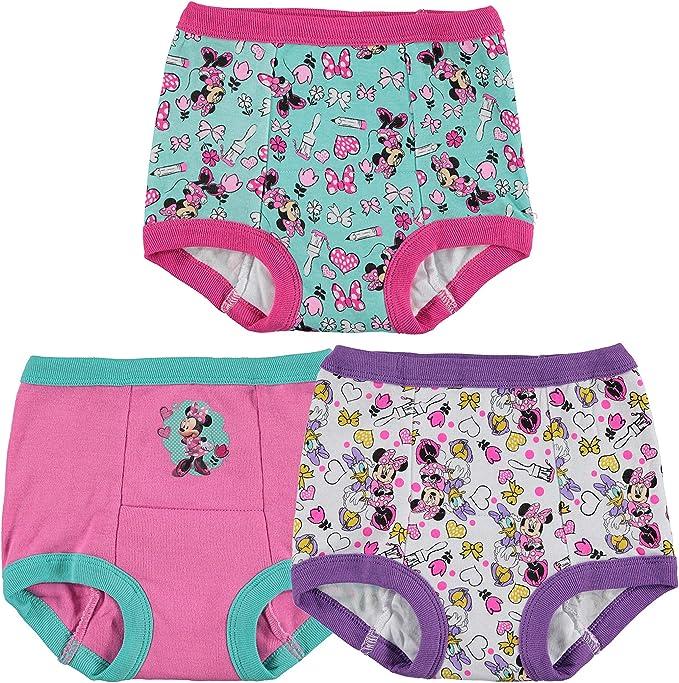 Disney Girls Toddler Minnie Mouse 7pk Potty Training Pant