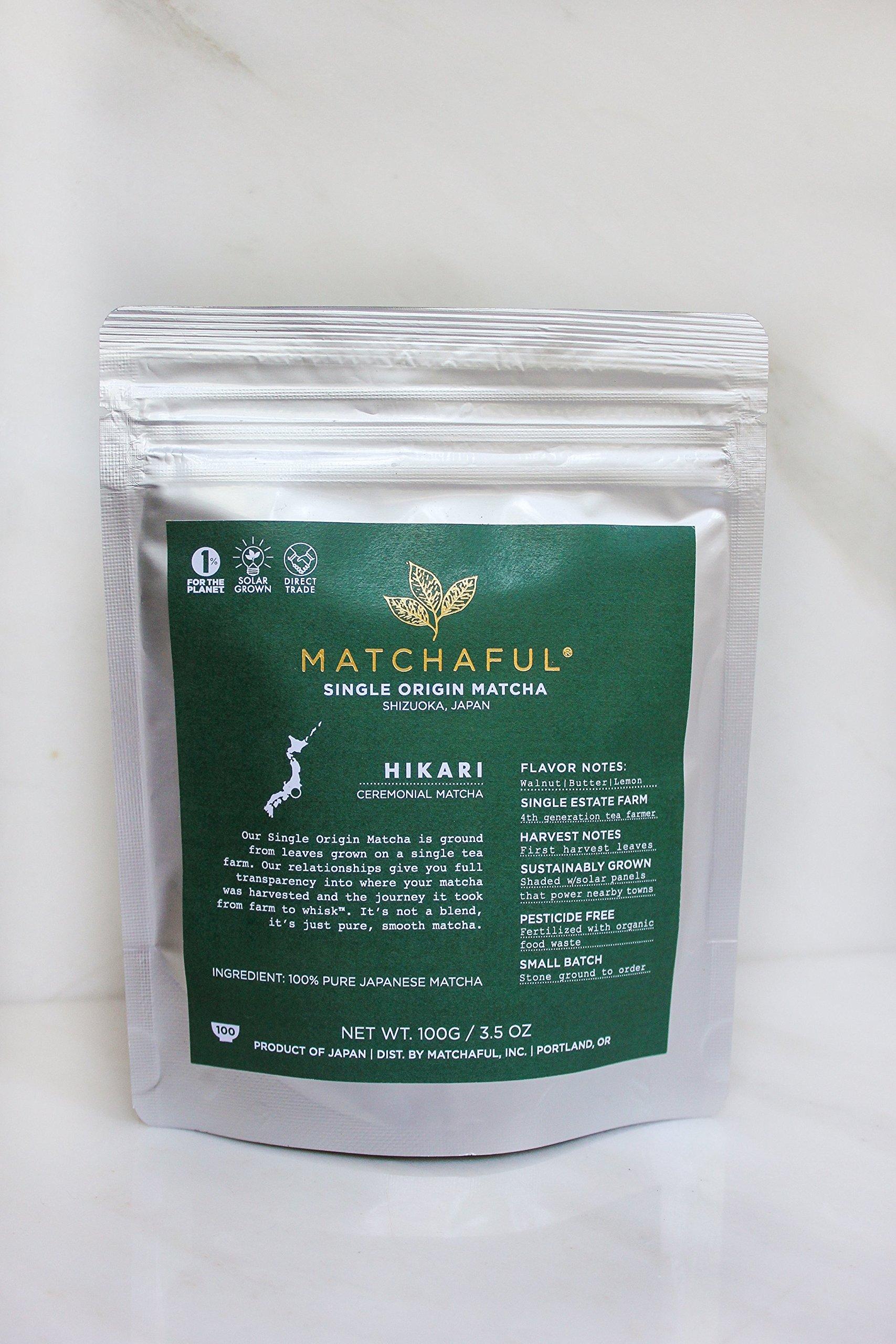 MATCHAFUL Hikari Single Origin Organic Ceremonial Matcha, 100 Gram by MATCHAFUL (Image #2)