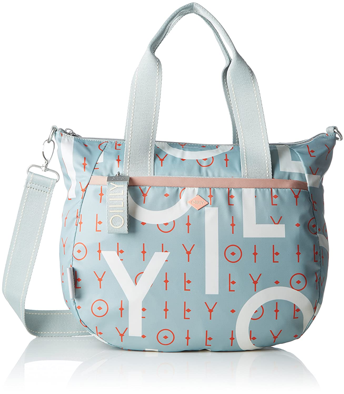 Groovy Handbag Mhz, Womens Bag, Blue (Dark Blue), 15x25x33 cm (B x H T) Oilily