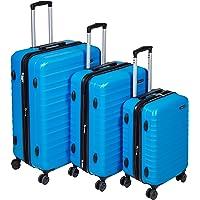 """AmazonBasics Hardside Spinner Luggage - 3 Piece Set (20"""", 24"""", 28"""")"""