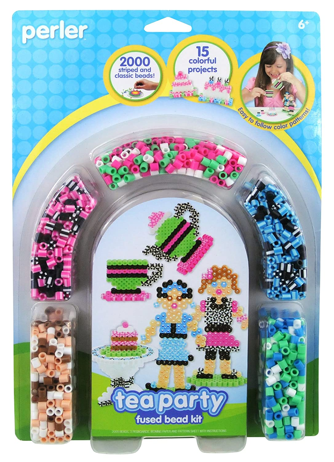 5e48b5a52 Perler Beads Fused Bead Kit, Neon Jewelry: Amazon.ca: Home & Kitchen