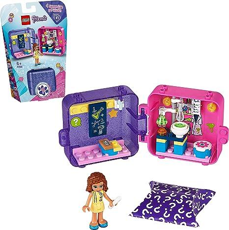 LEGO Friends - Cubo de Juegos de Olivia, Caja de Juguete con ...