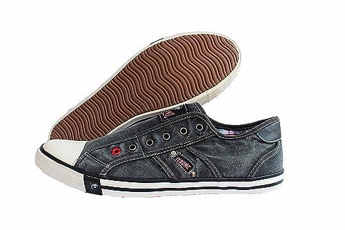 f62ebd806da Matthias Kranz - Zapatillas de Lona para Hombre Antracita  Amazon.es   Zapatos y complementos