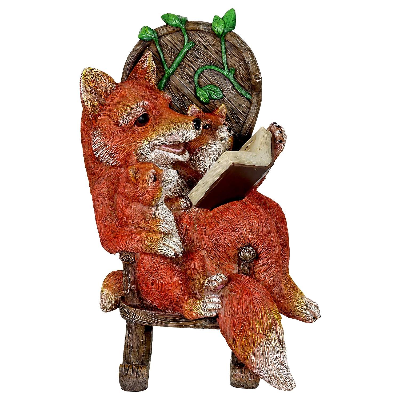 Amazon.com: Exhart - Estatua de jardín con diseño de familia ...
