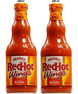 Jan 21, · Directions. If Frank's RedHot Buffalo Wings Sauce is not available, mix together the Frank's Red Hot Sauce with the butter. Bake wings in foil-lined pan at °F on lowest oven rack for 20 to 25 minutes until crispy, turning once.5/5(13).