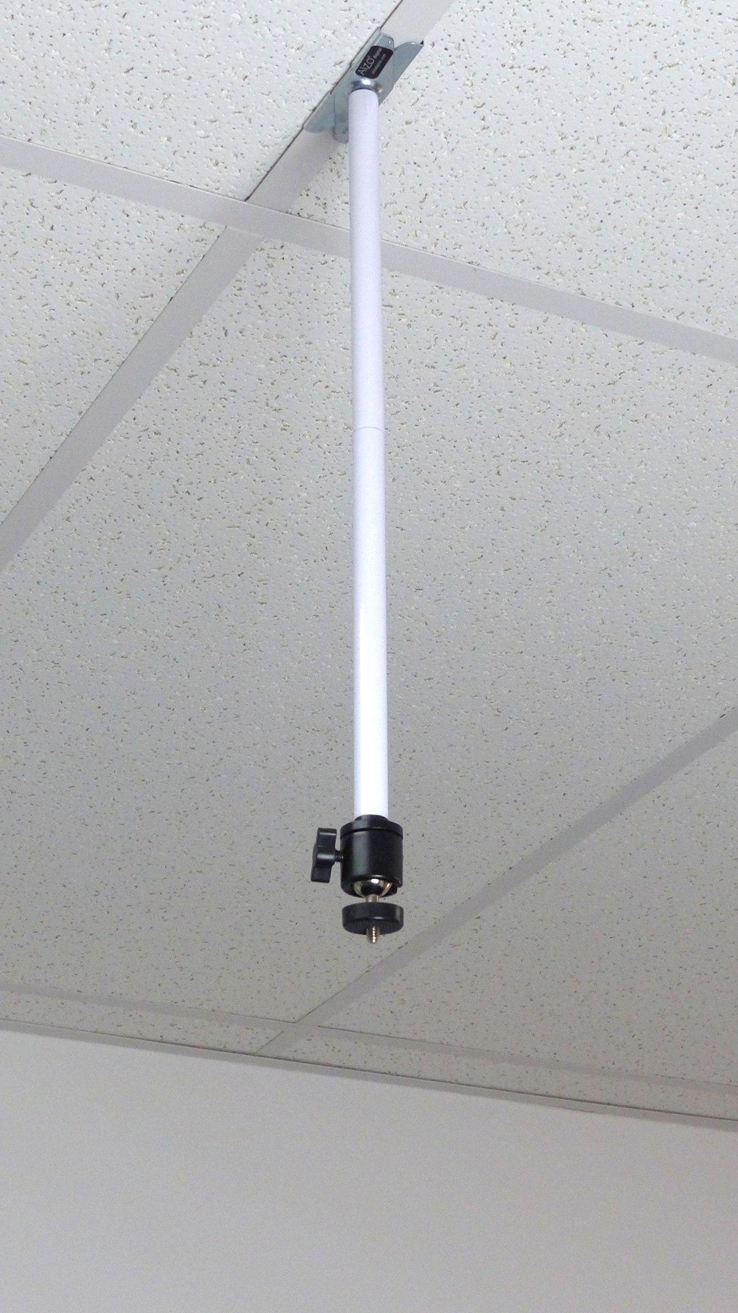 ALZO Suspended Drop Ceiling Video Pico Mini Projector Mount Bracket