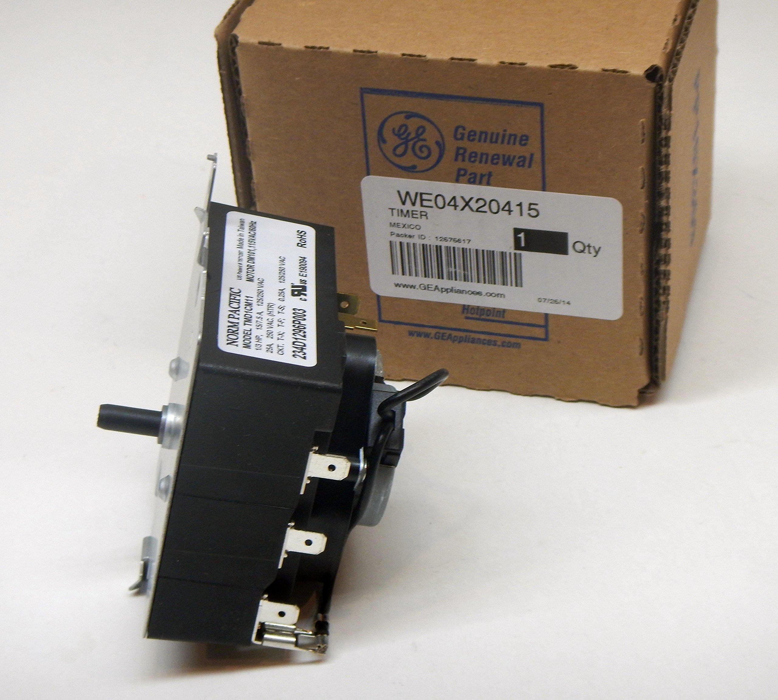 GE WE04X20415 Timer by GE (Image #1)