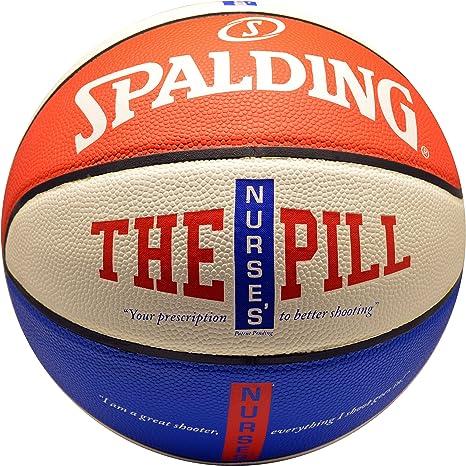 Spalding NBA – Balón de Baloncesto de la píldora de la Enfermera ...