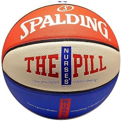 Amazon.com: Spalding NBA Enfermera de la píldora