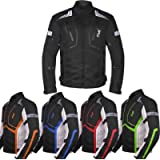 Motorcycle Jacket For Men Textile Motorbike Dualsport Enduro Motocross Racing Biker Riding CE Armored Waterproof All…