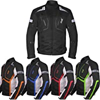 $53 » Motorcycle Jacket For Men Textile Motorbike Dualsport Enduro Motocross Racing Biker Riding…