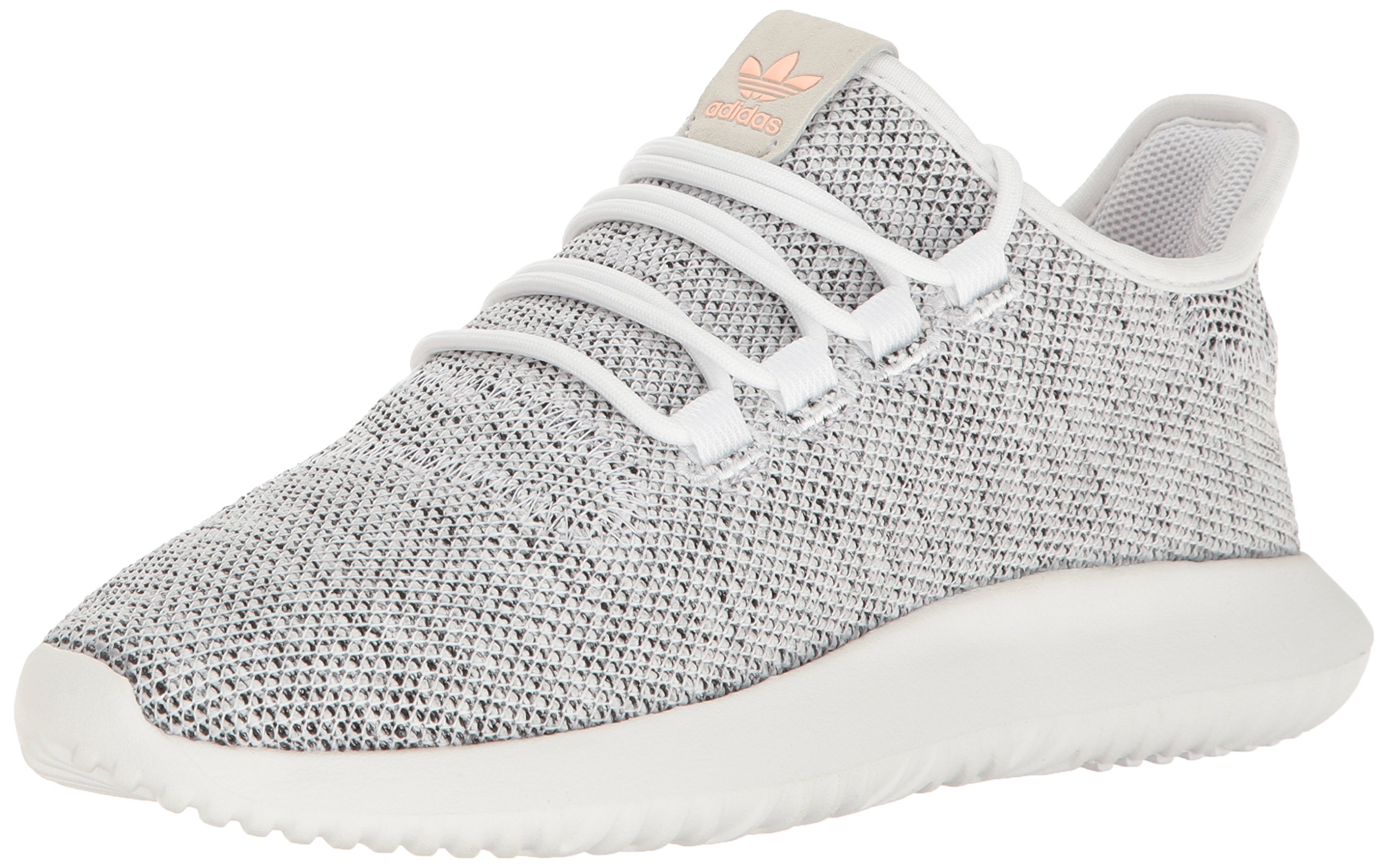 the best attitude 13c71 3e3f2 adidas Originals Women's Tubular Shadow W Running Shoe, White/Pearl  Grey/Haze Coral, 8 M US