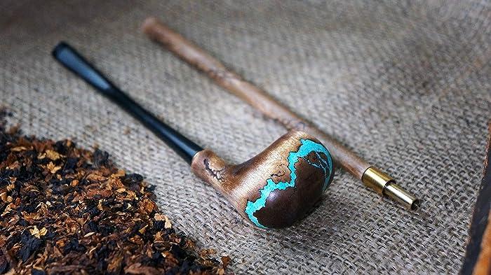 Amazon com: Long Tobacco smoking pipe