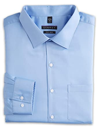 301730e2 Synrgy by DXL Big and Tall Sateen Dress Shirt at Amazon Men's ...