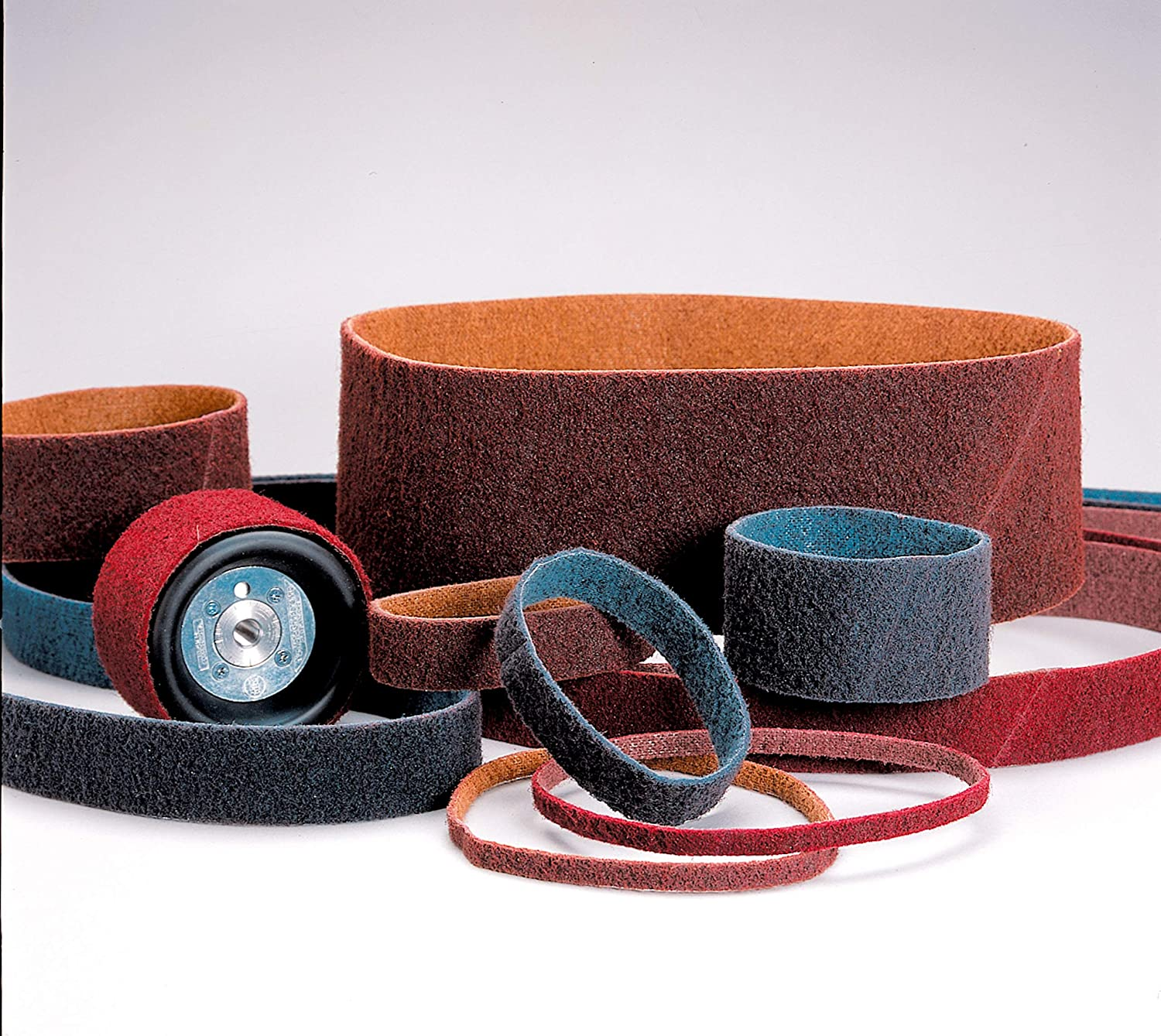 10 per case 3M 3//4 in x 18 in VFN Standard Abrasives Surface Conditioning RC Belt 888054