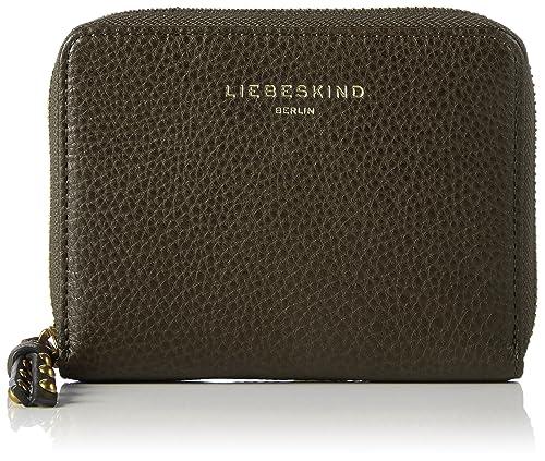 Liebeskind Berlin - Connyh7 Milano, Carteras Mujer, Grün (Olive Green), 3x13x11 cm (W x H D): Amazon.es: Zapatos y complementos