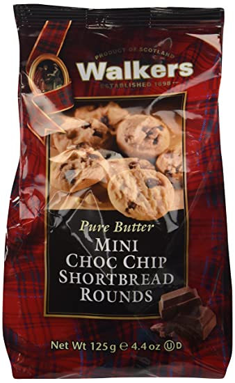 Bolsa Walkers Mini Chop Chip Shortbread 125 Gr